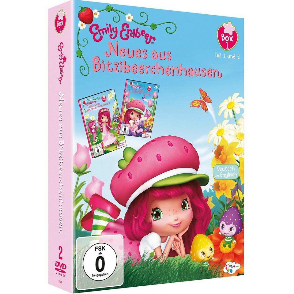 Just Bridge Entertainment DVD Emily Erdbeer 2er DVD Box 1 (Teil 1 + 2)