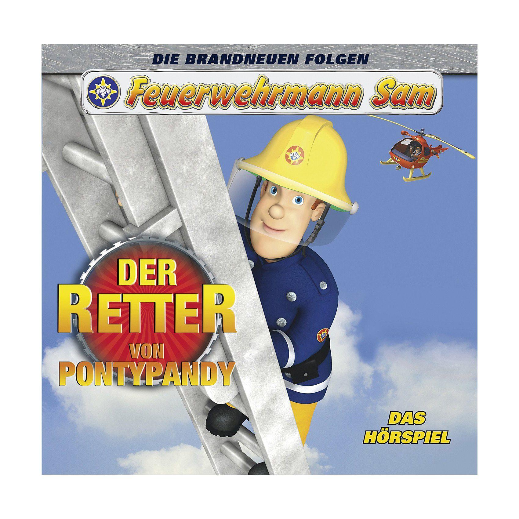 Just Bridge Entertainment CD Feuerwehrmann Sam - Der Retter von Pontypandy Hörspiel (S