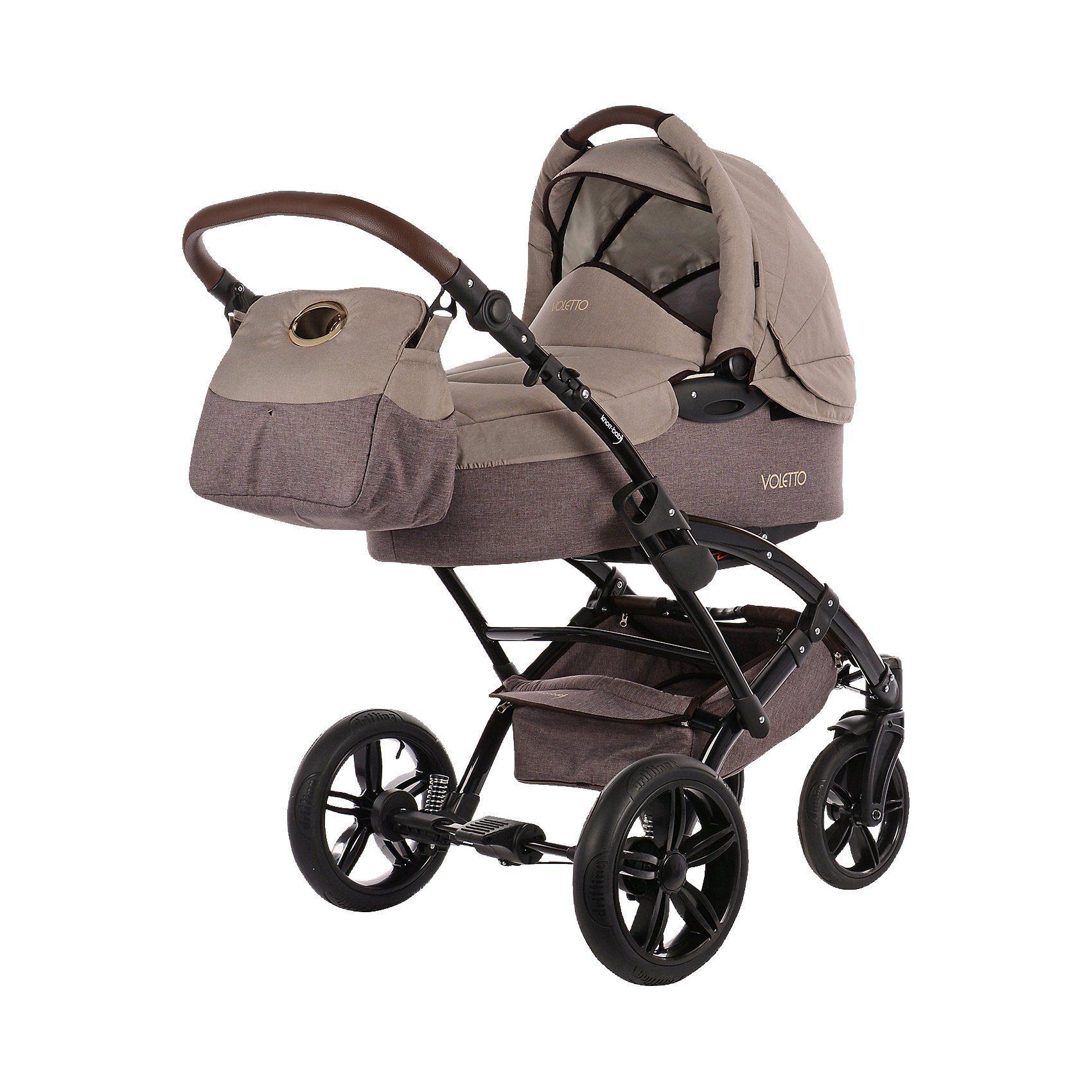 knorr-baby Kombi Kinderwagen Voletto Happy Colour mit Wickeltasche, bei