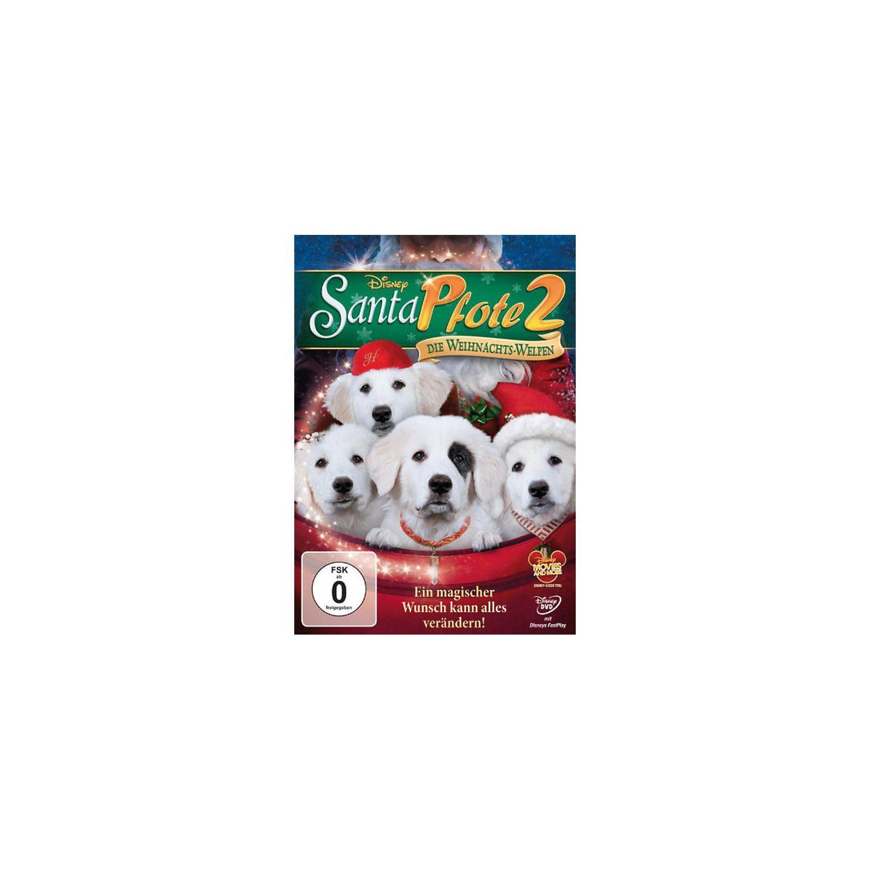 Disney DVD DVD Santa Pfote 2 - Die Weihnachts-Welpen