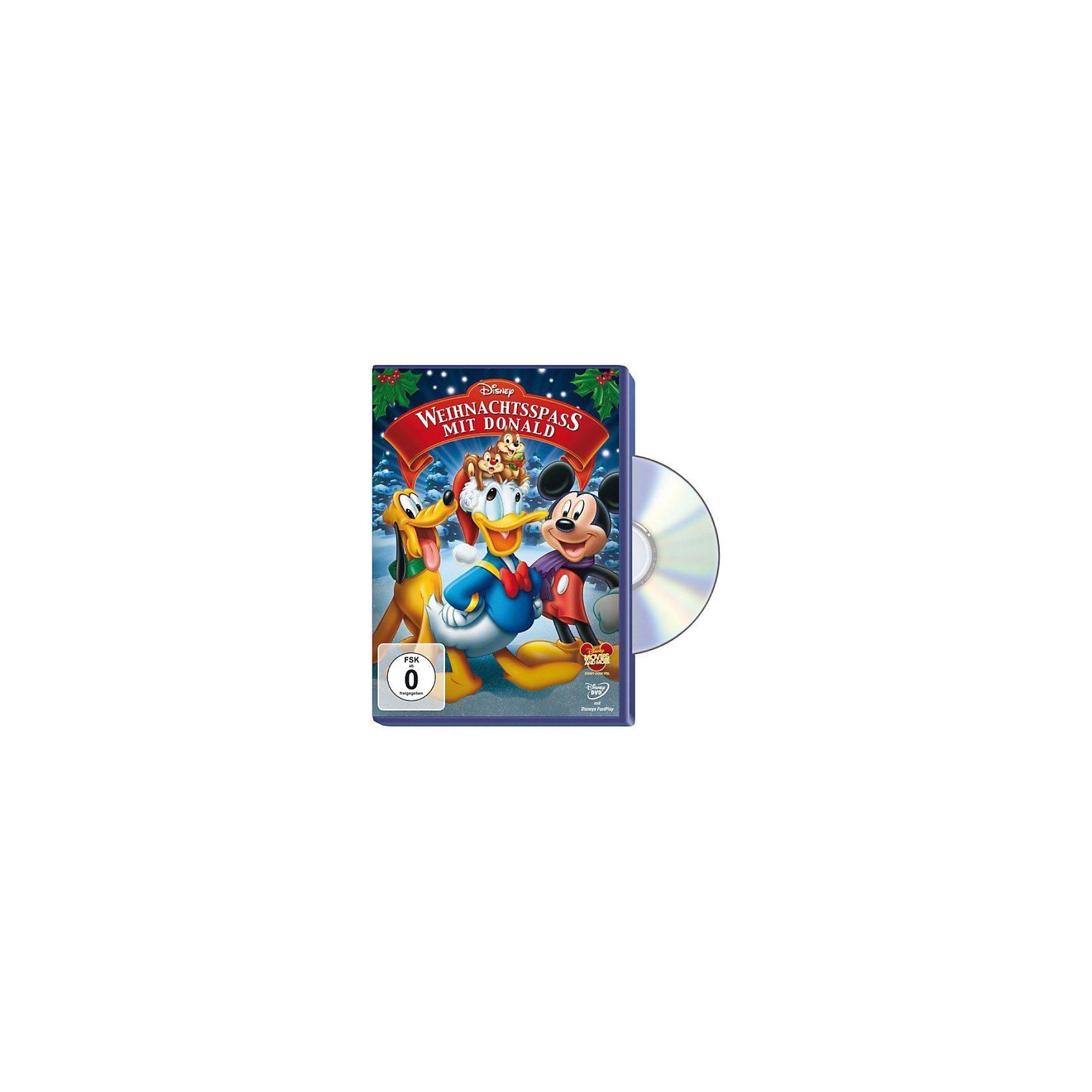 Disney DVD DVD Weihnachtsspaß mit Donald
