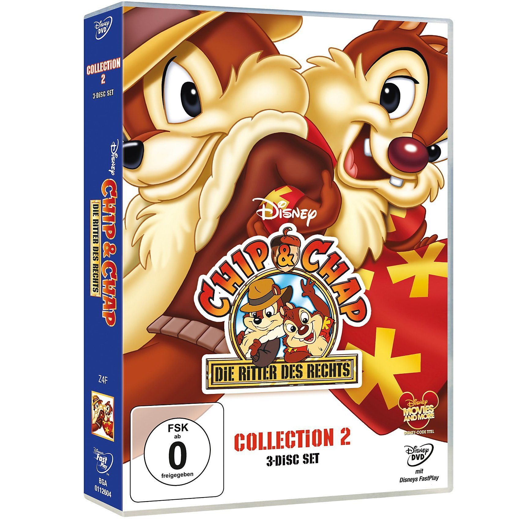 Disney DVD DVD Chip & Chap: Die Ritter des Rechts - Collection 2