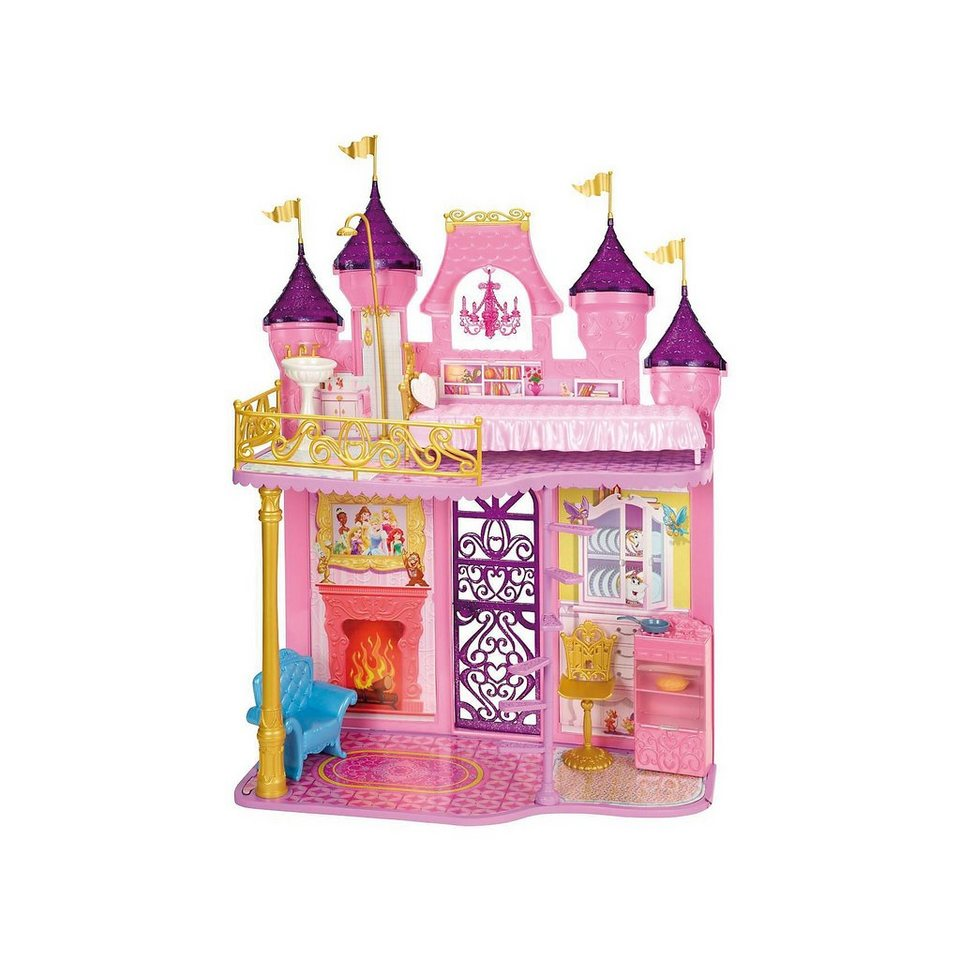 mattel disney princess schloss online kaufen otto. Black Bedroom Furniture Sets. Home Design Ideas