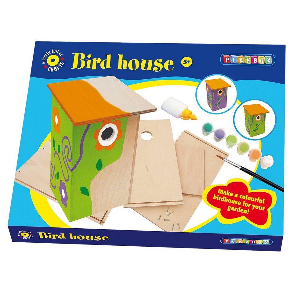 Playbox Kreativset Vogelhaus gestalten