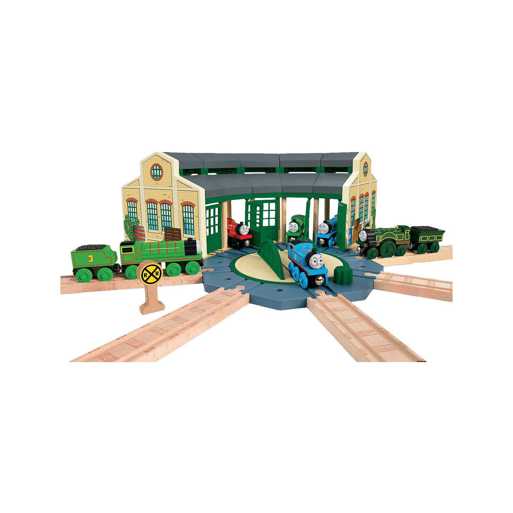 Mattel Thomas und seine Freunde - Lokschuppen (Holz)