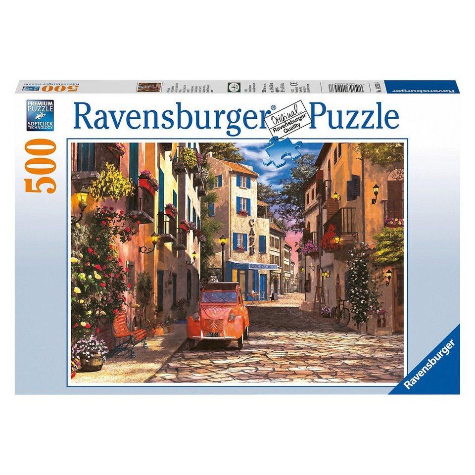 Ravensburger Puzzle 500 Teile, 49x36 cm, Im Herzen Südfrankreichs online kaufen