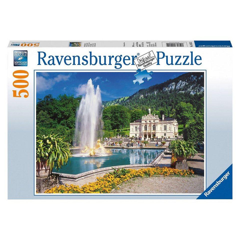 Ravensburger Puzzle Schloss Linderhof 500 Teile