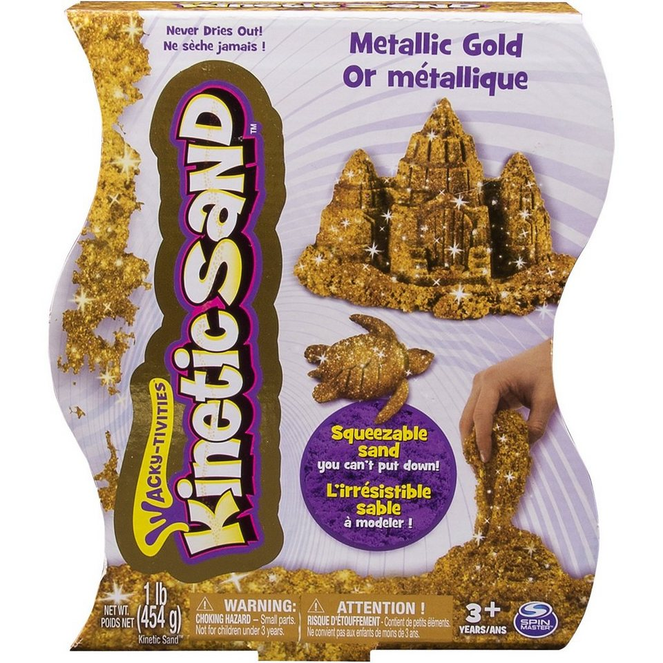 Spin Master Kinetic Sand Metallic (454g)