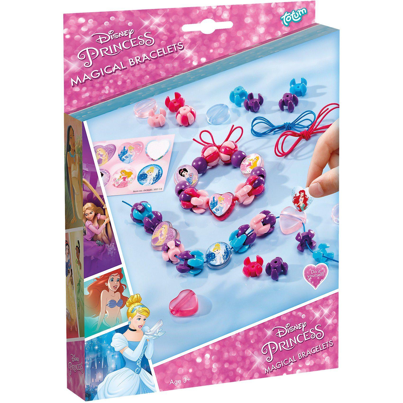 totum Kreativset Schmuckbasteln Magical Bracelets Disney Princess
