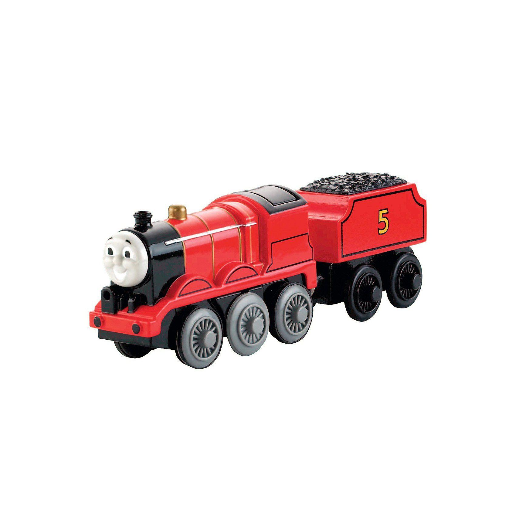 Mattel Thomas und seine Freunde - Metall-Lokomotive James für Holz