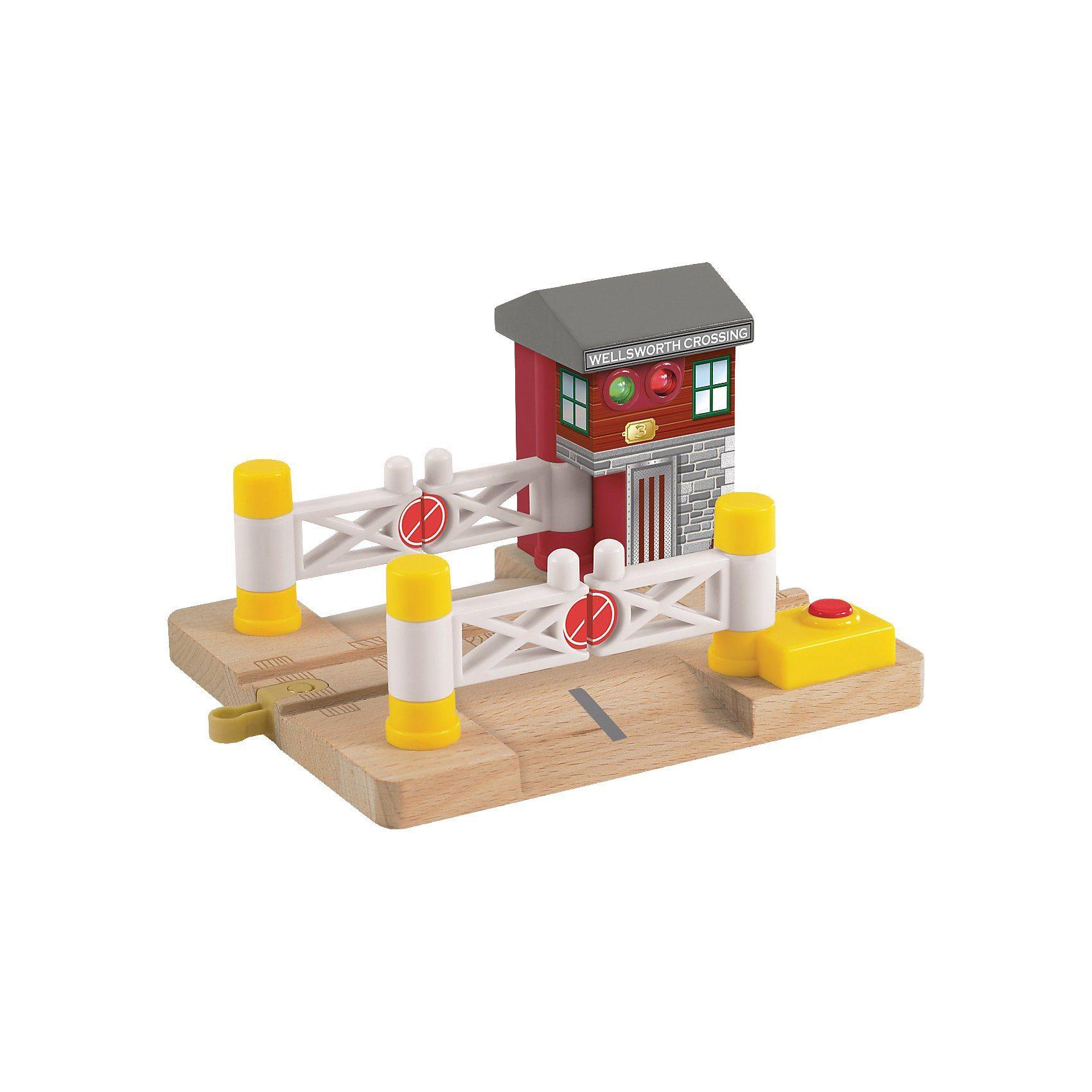 Mattel Thomas und seine Freunde - Bahnübergang Deluxe (Holz)