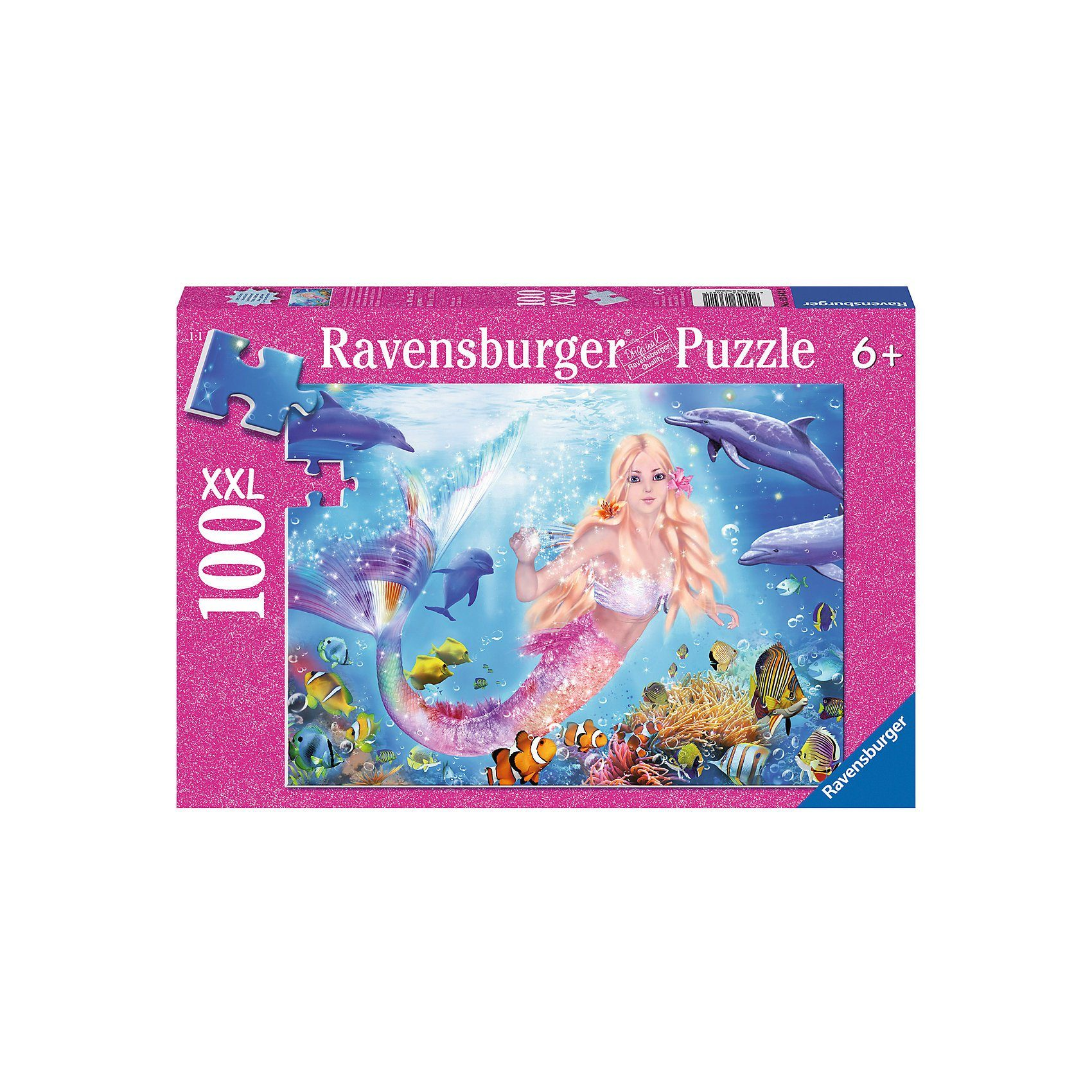 Ravensburger Sonderserie 100 Teile XXL Glitzernde Unterwasserwelt, 100 Te