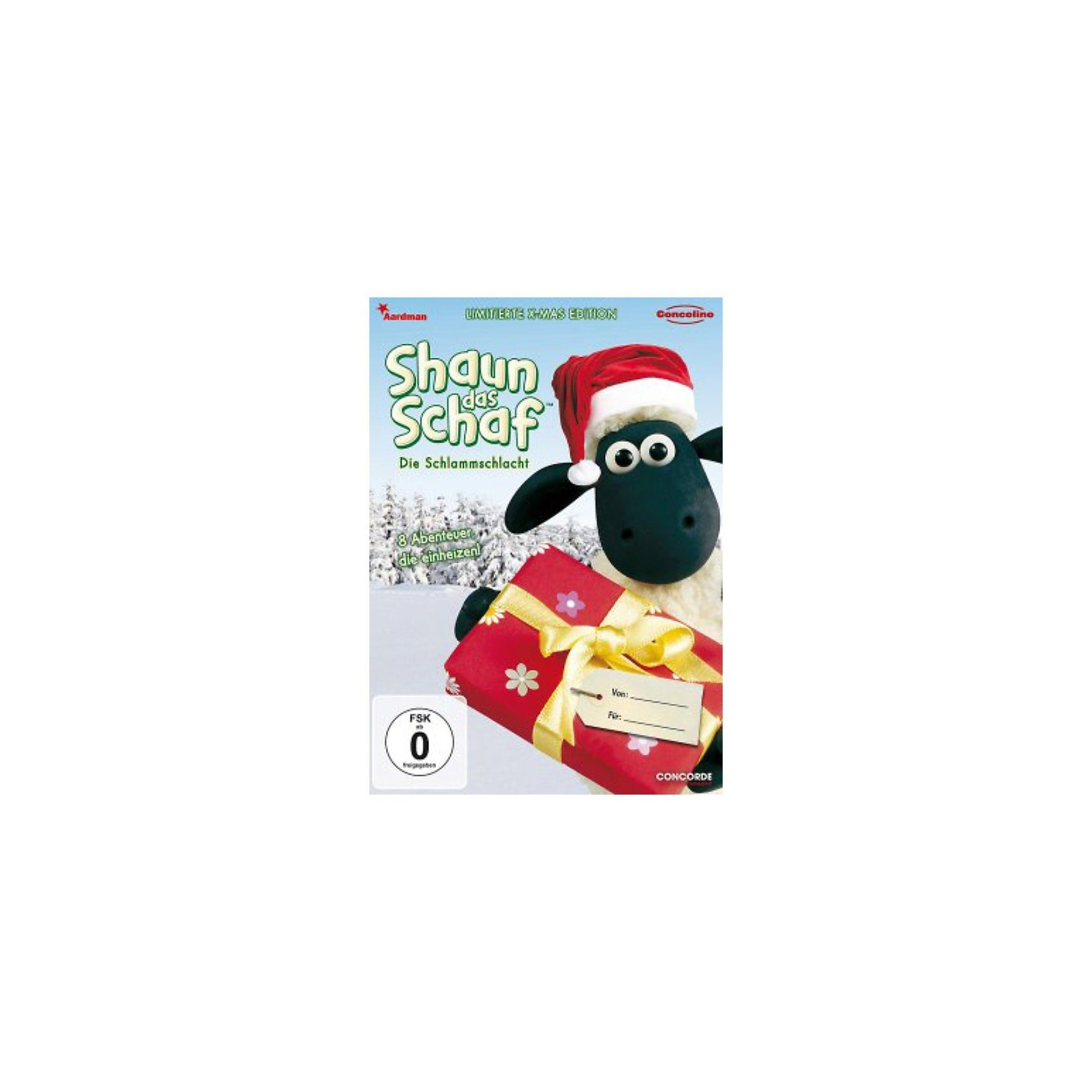 Concorde Home DVD Shaun das Schaf - Die Schlammschlacht