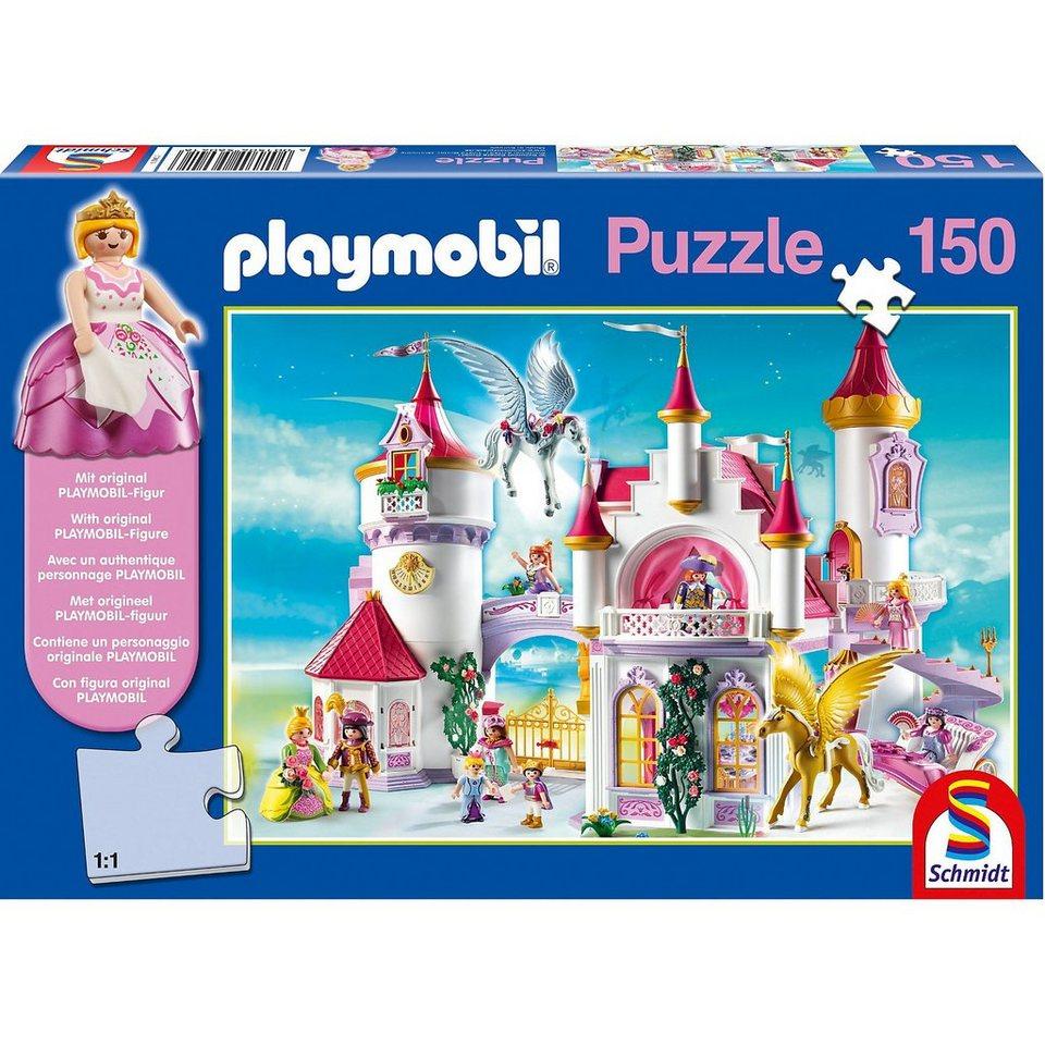 Schmidt Spiele Im Prinzessinnenschloss, 150 Teile, Kinderpuzzle Playmobil m