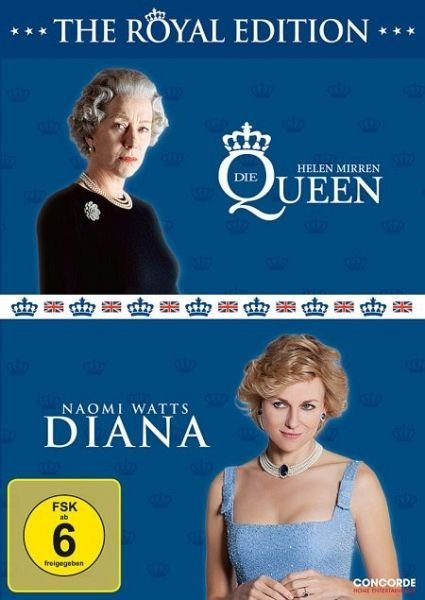 DVD »The Queen / Diana (2 Discs)«