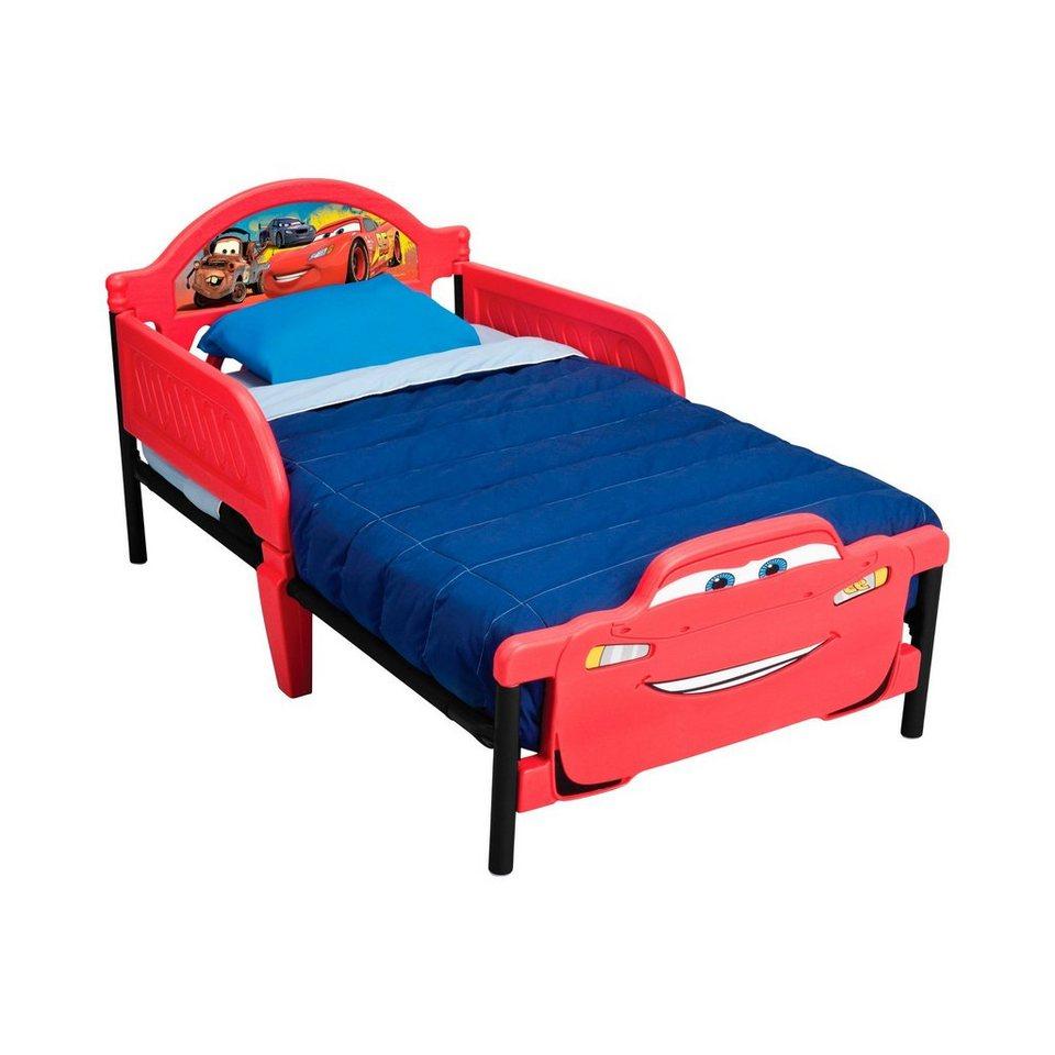 BABY-WALZ Kinderbett 70x140 cm in rot