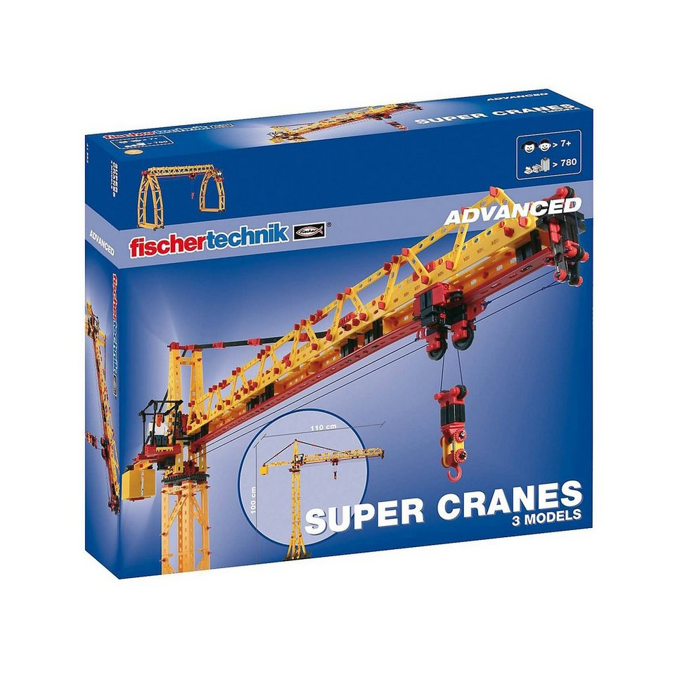 "fischertechnik ADVANCED ""Super Cranes"" - Baukasten"