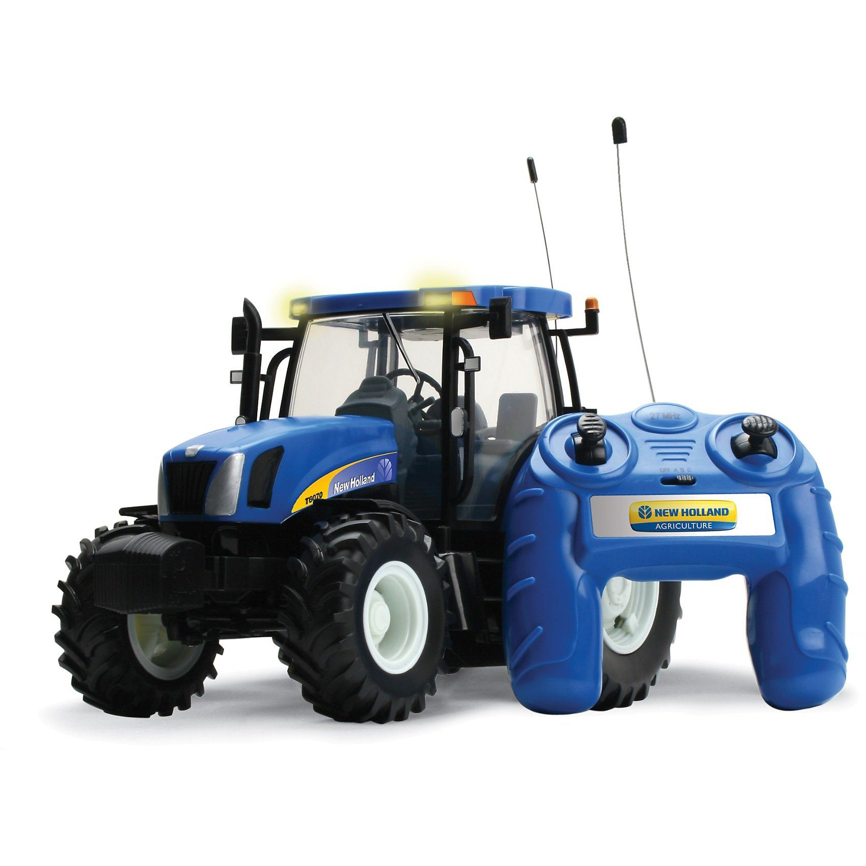 TOMY Britains - New Holland RC-Traktor T6070 1:16