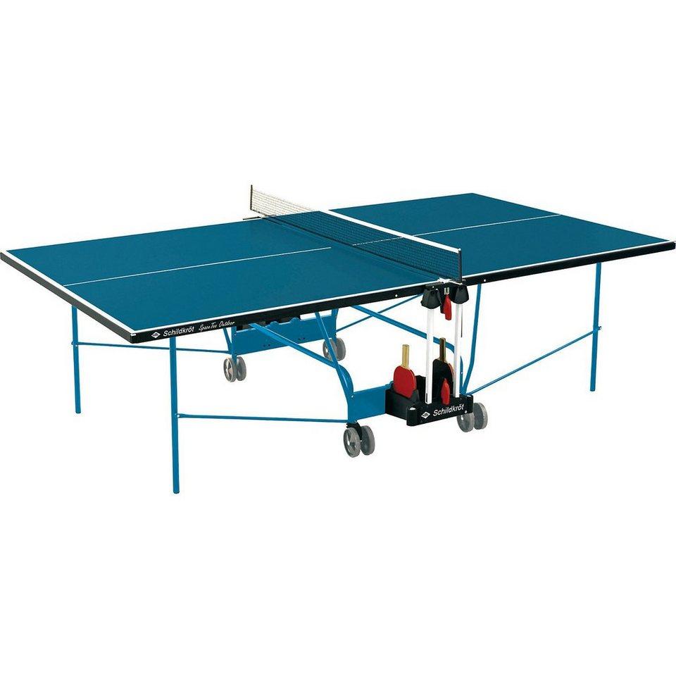 Schildkröt Funsports Schildkröt Outdoor Tischtennisplatte Profi in grün