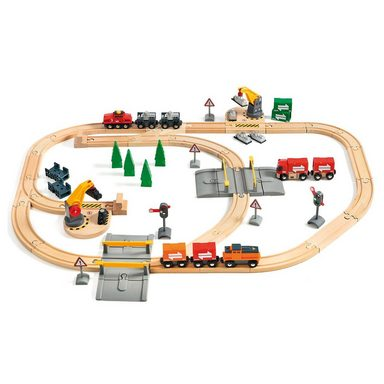 BRIO® Großes Güterbahnhofset