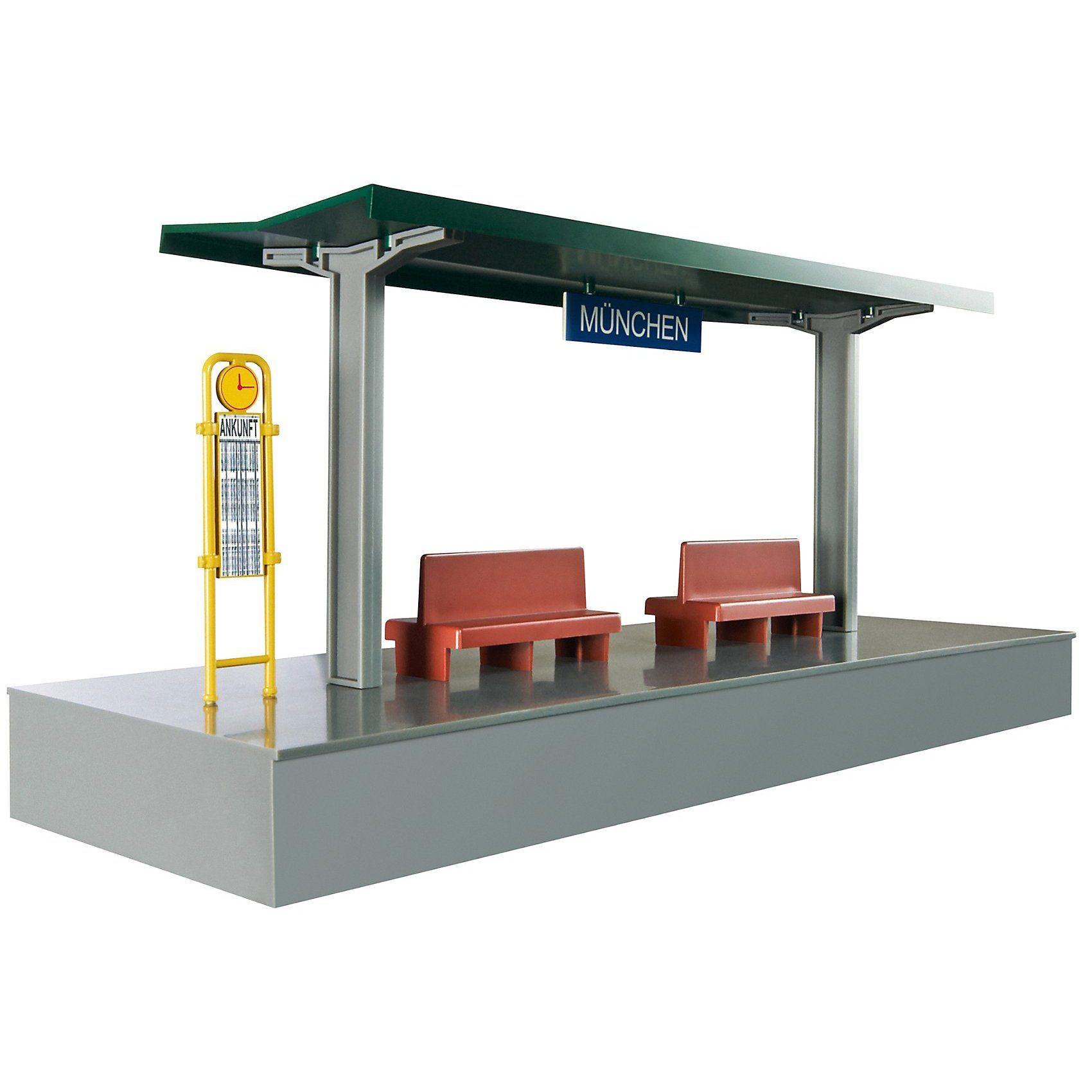Märklin my world - 72200 Bahnsteig, steckbarer Bausatz
