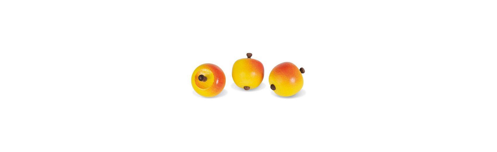 Nemmer Äpfel Set 3 Stück, Holz