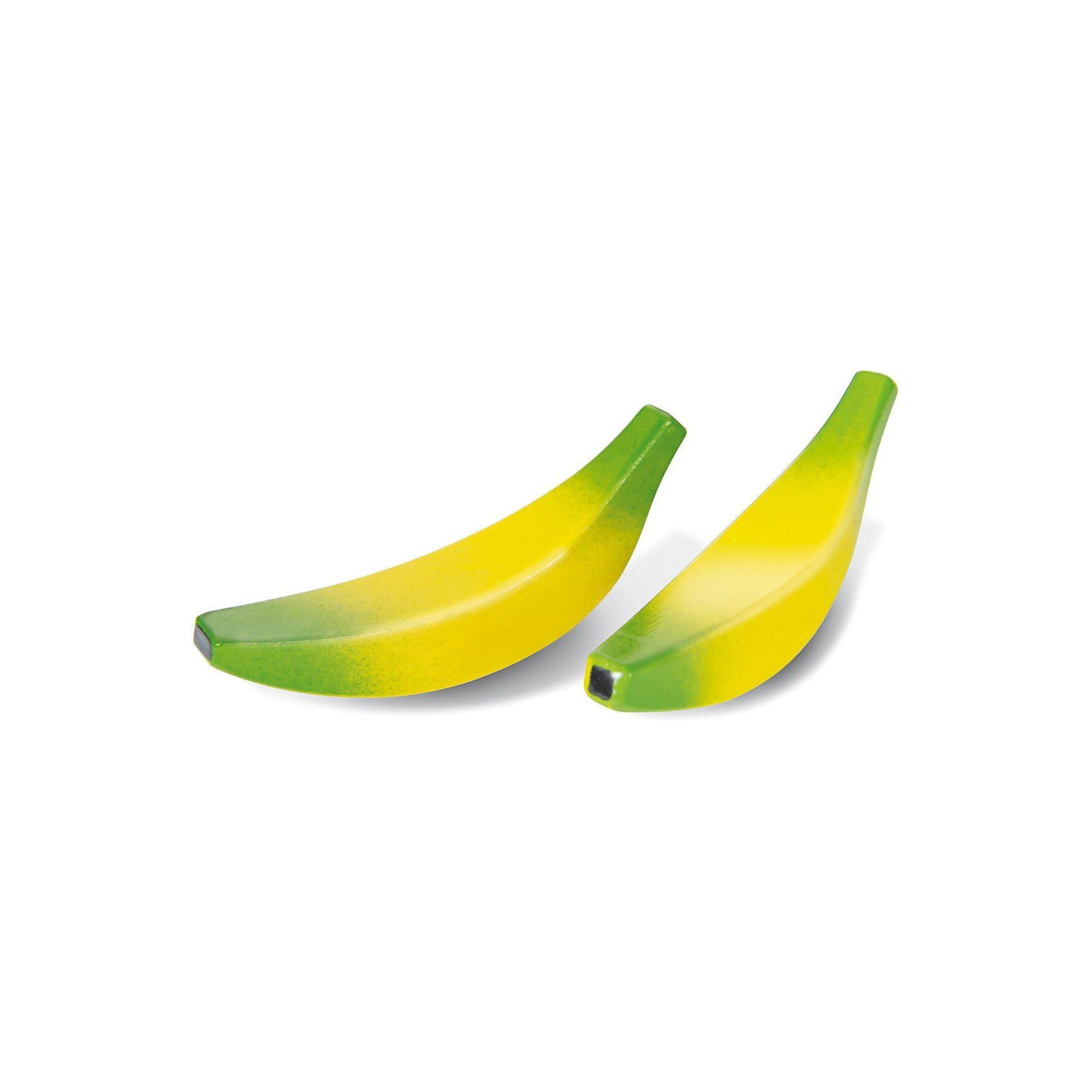 Nemmer Spiellebensmittel Bananen Set 2 Stück, Holz