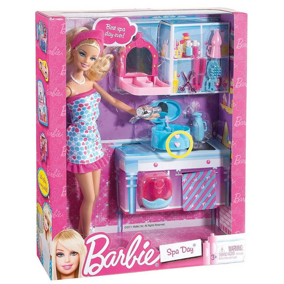 Mattel Barbie Mini Möbel - im Spa