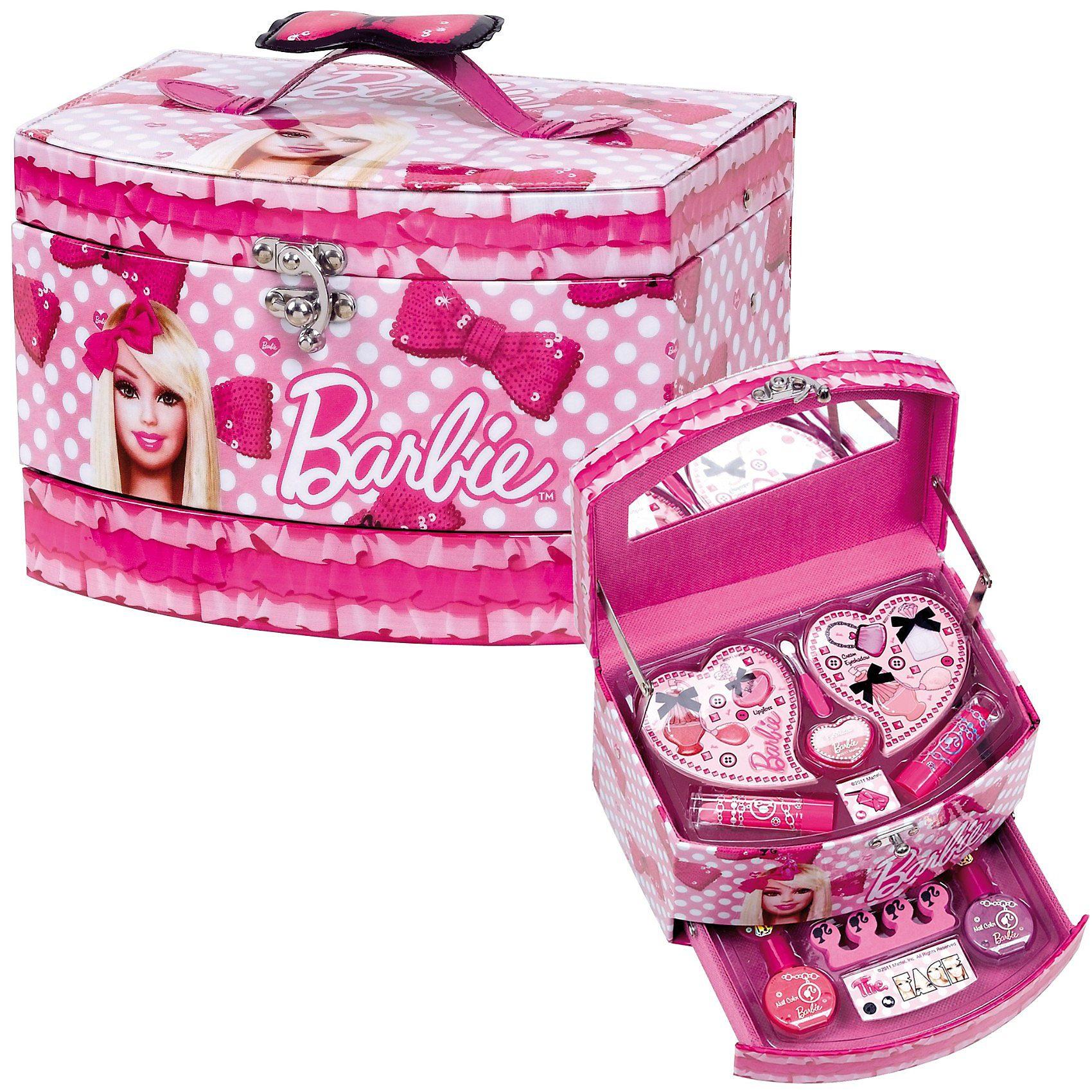 Barbie Kosmetikkästchen mit Schublade