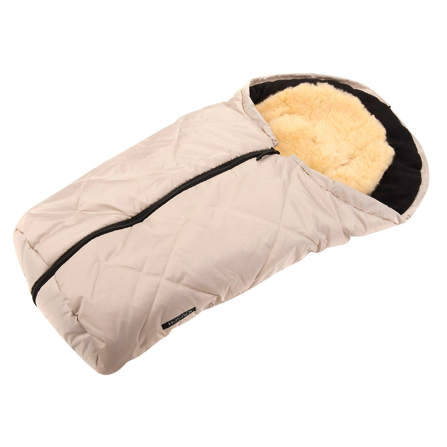 Kaiser Fußsack für Babyschale Little Sheepy, mit Lammfelleinlage, s