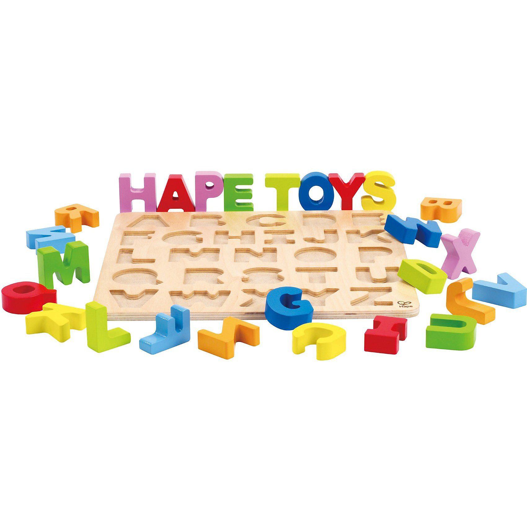 HAPE Buchstaben Puzzle
