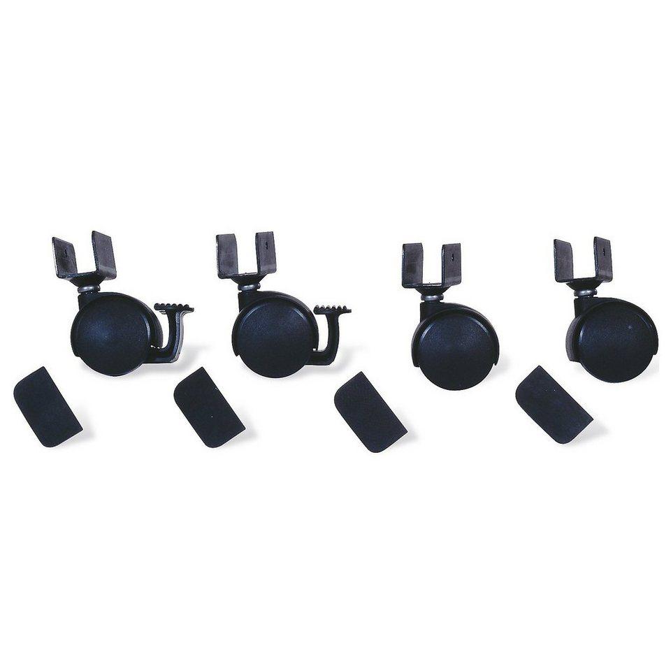 Pinolino Rollensatz mit U-Aufnahme, 4-tlg., Schwarz in schwarz