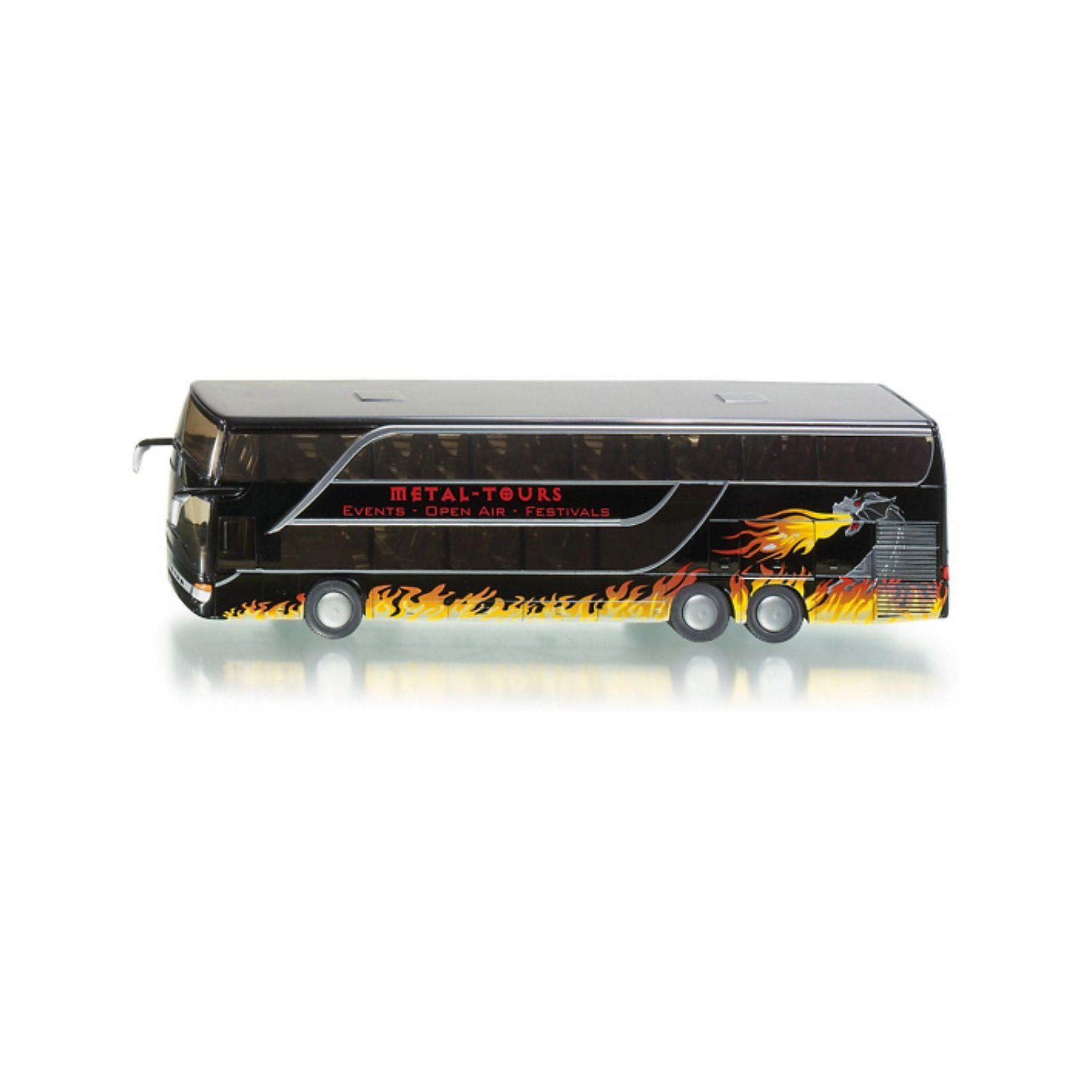 SIKU 1829 Doppelstock Reisebus