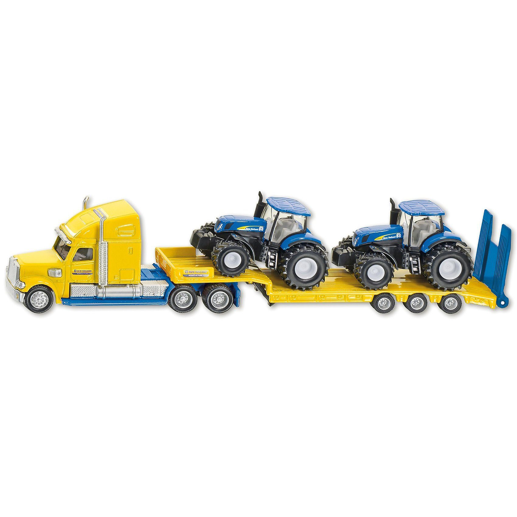 Siku 1805 LKW mit New Holland Traktor