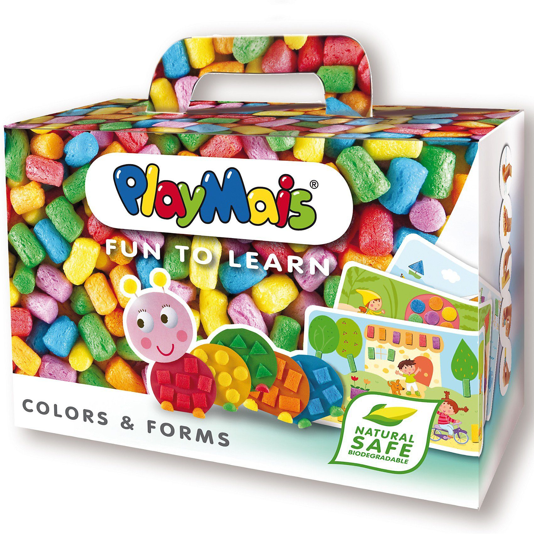 PlayMais FUN TO LEARN Farben & Formen, 550 Maisbausteine