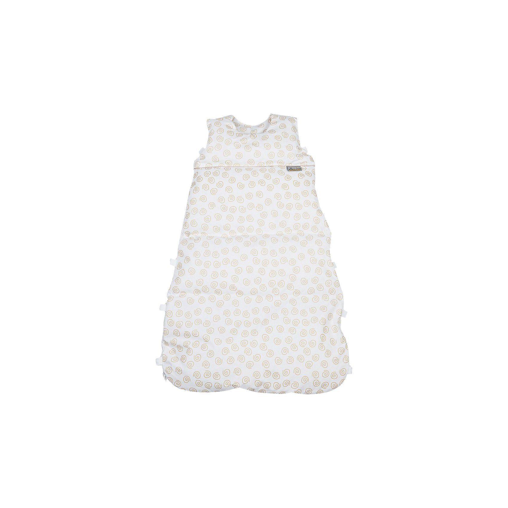 Artländer Schlafsack Climarelle, mit PCM Klima-Kapseln, Schnecke ocker