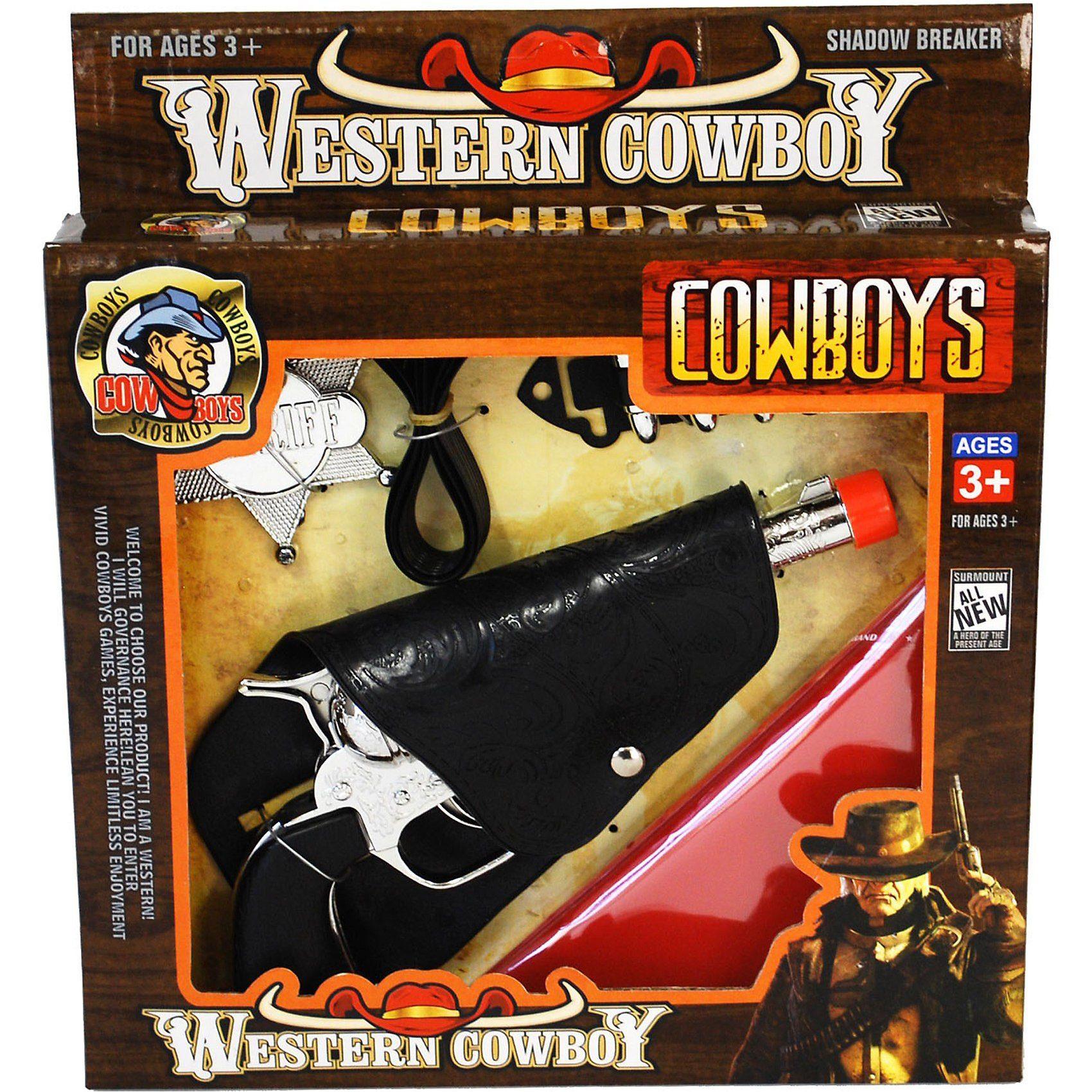 Funny Fashion Cowboy Revolver, Stern und Munition
