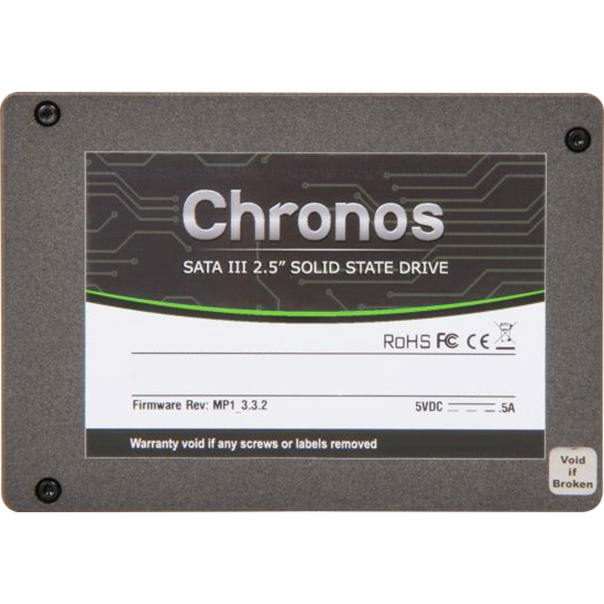 "Mushkin Solid State Drive »Chronos 2,5"" SSD 60 GB«"