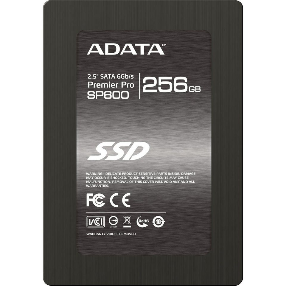 "ADATA Solid State Drive »SP600 2,5"" SSD 256 GB«"