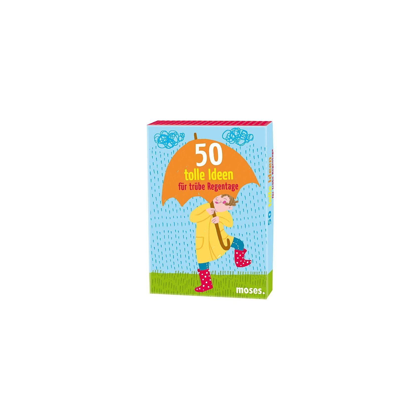 moses 50 tolle Ideen für trübe Regentage, Kartenset