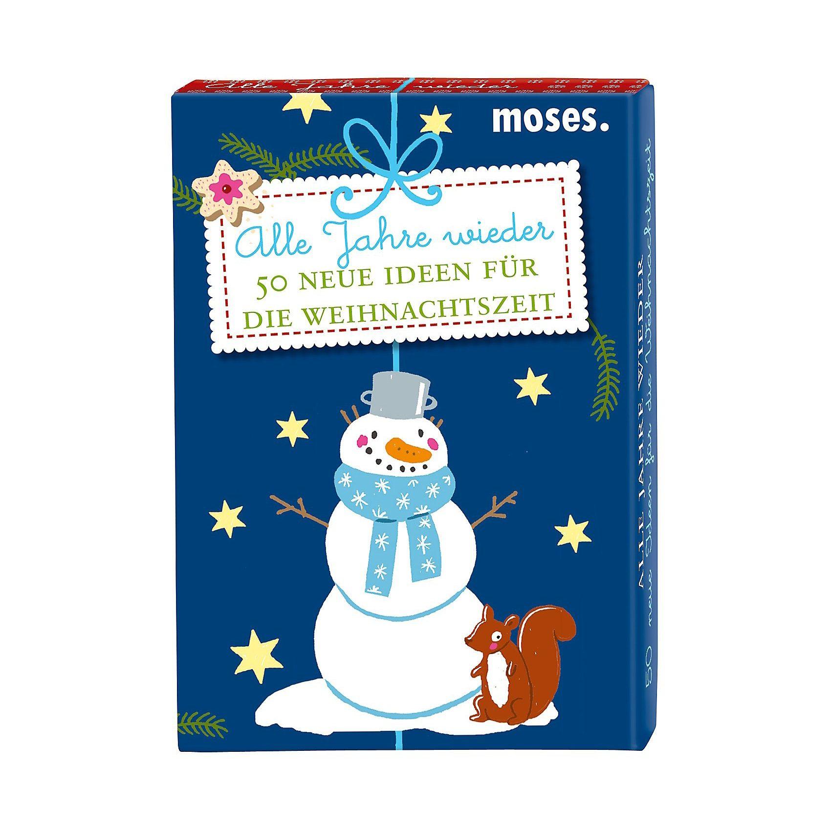 moses Alle Jahre wieder - 50 Ideen für die Weihnachtszeit, Kartens