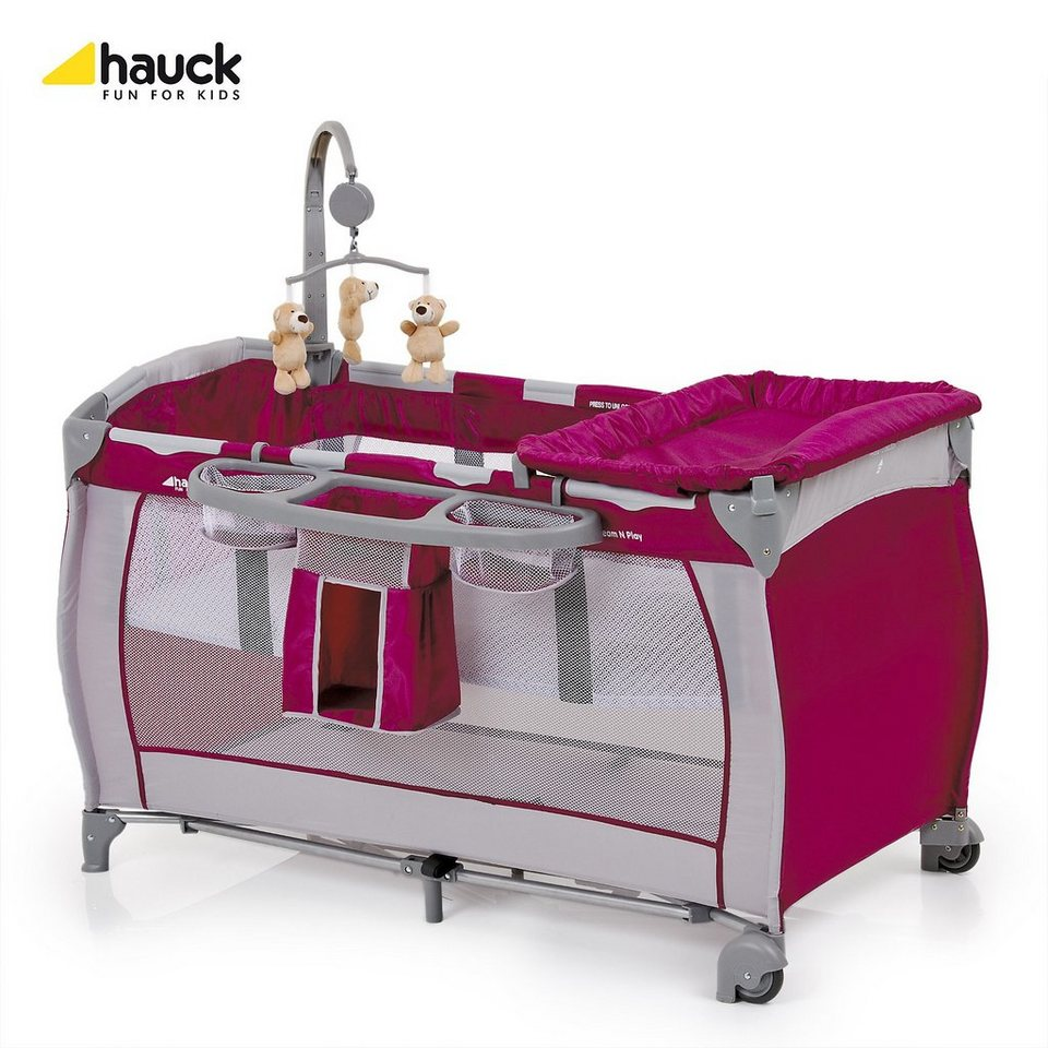 hauck reisebett babycenter violett online kaufen otto. Black Bedroom Furniture Sets. Home Design Ideas