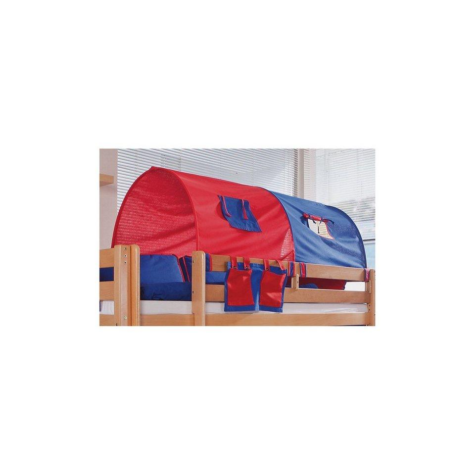 relita 2er tunnel f r hoch und etagenbetten rot blau. Black Bedroom Furniture Sets. Home Design Ideas