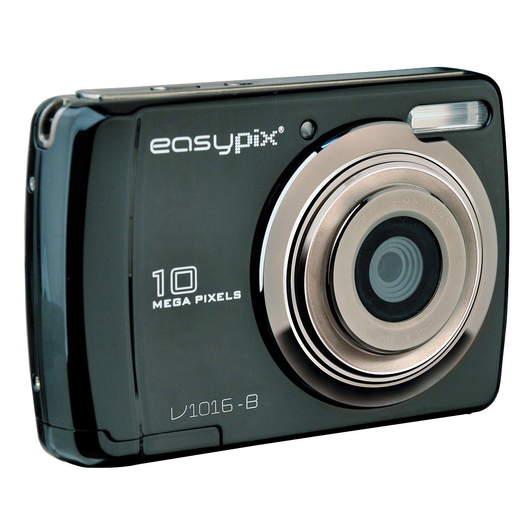 """easypix Digitalkamera V1016-B """"Swing"""" schwarz"""