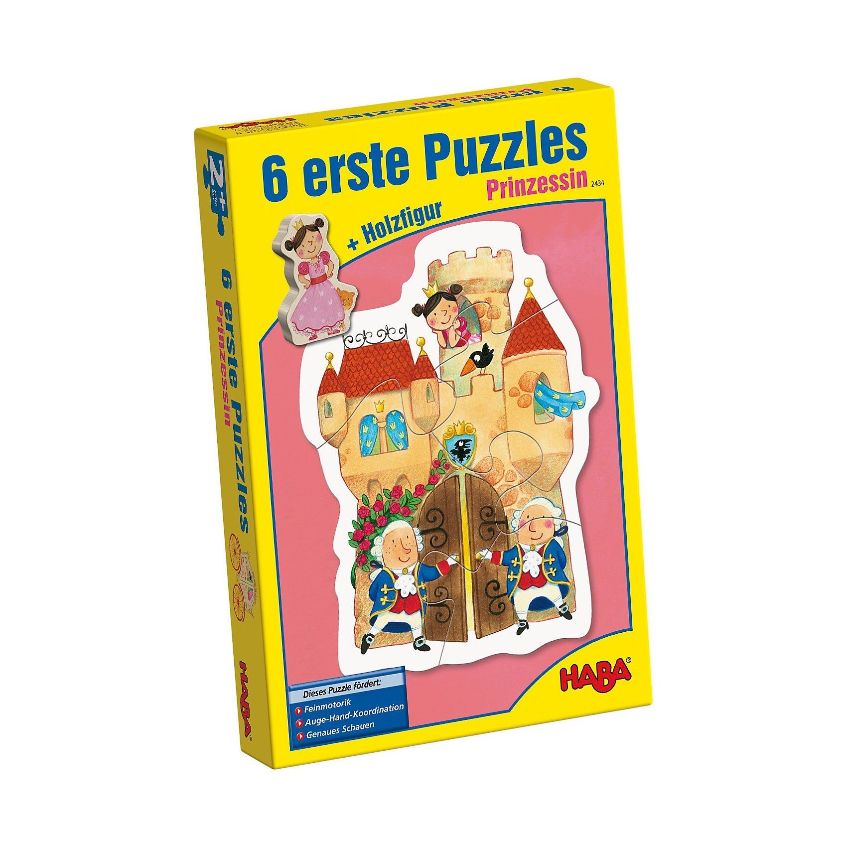 Haba 6 erste Puzzles - Prinzessin