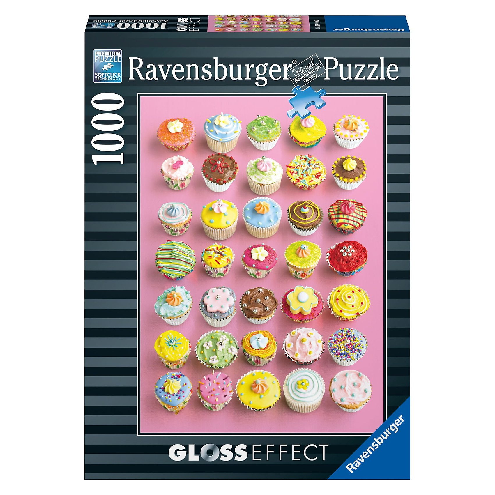 Ravensburger Puzzle Bunte Cupcakes 1000 Teile
