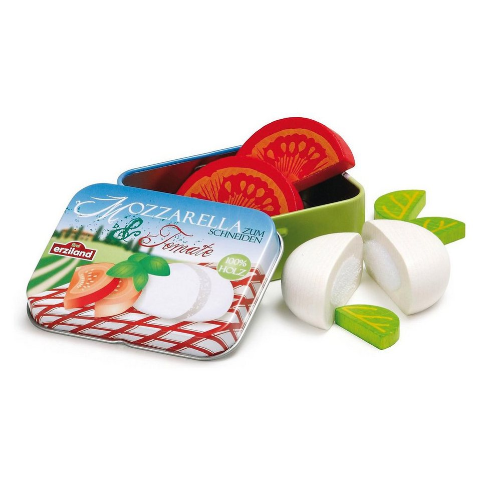 ERZI Spiellebensmittel Mozarella mit Tomate in Dose
