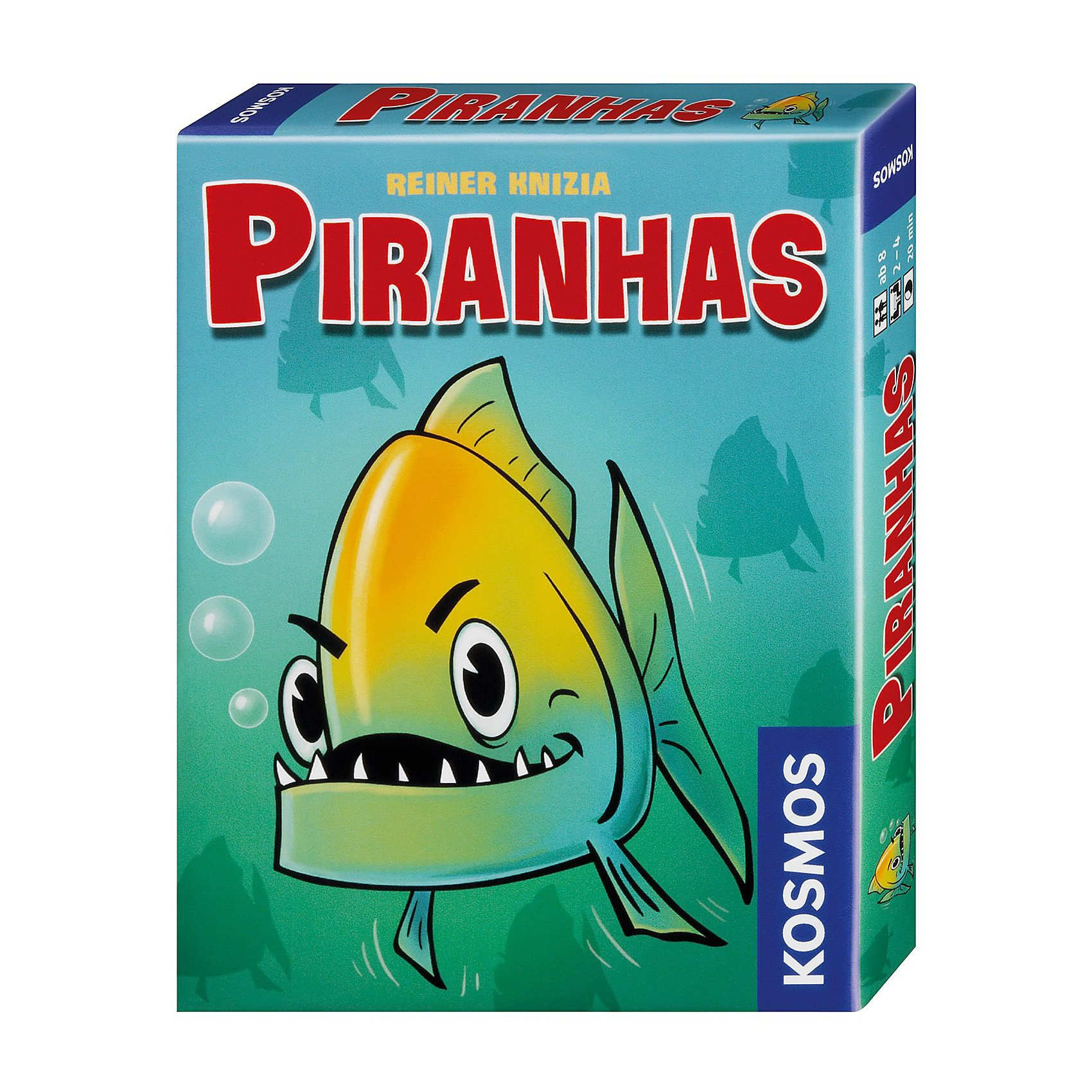 Kosmos Kartenspiel Piranhas