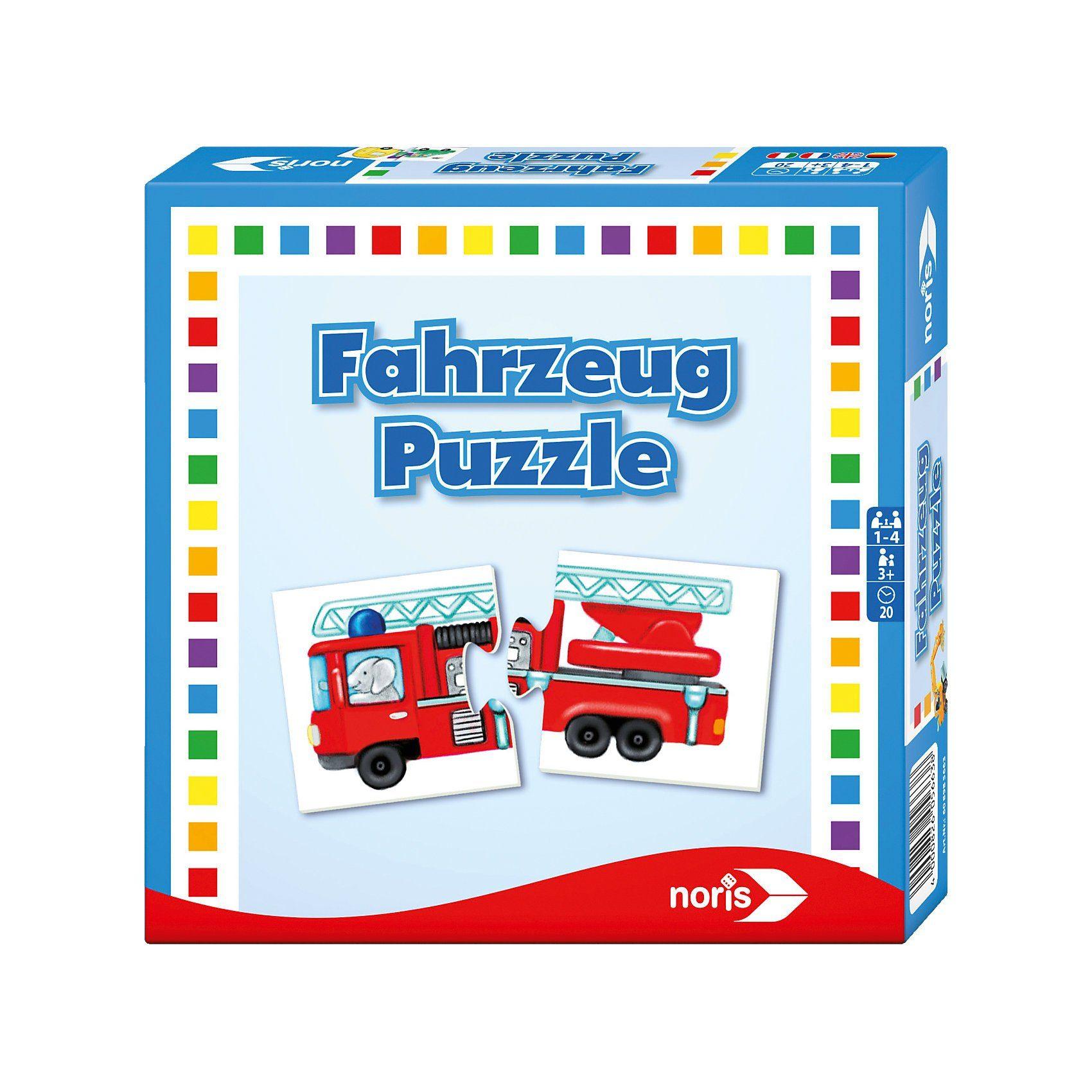 Noris Fahrzeug- Puzzle