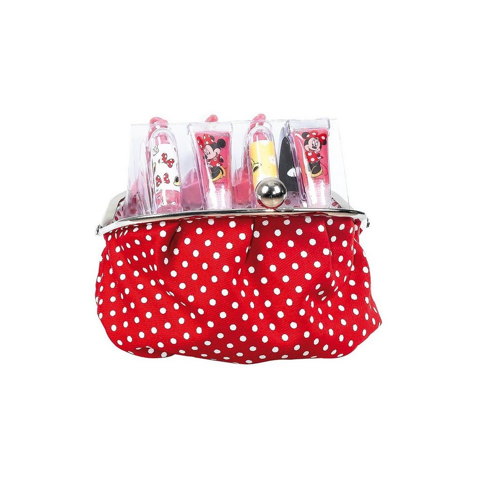 Minnie Mouse Geldbörse mit Kosmetik